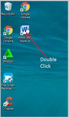 Cara Membuka Microsoft Word