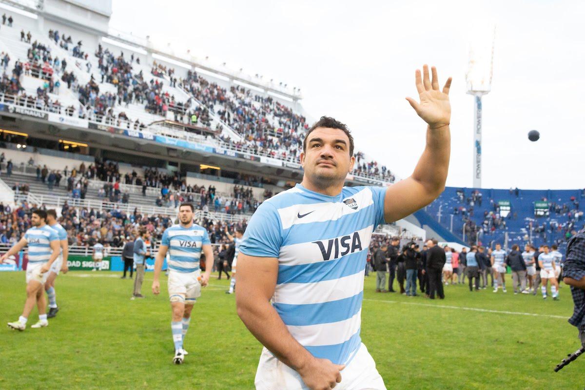 During the Personal Rugby Championship , Los Pumas and All Blacks at the Estadio Jose Amalfitani Stadium