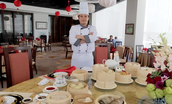 Dim sum Master, Chef Junel Obero