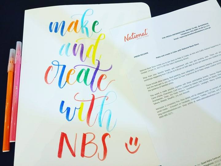 Make And Create Arts Crafts Festival With National Bookstore 2017