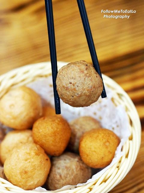 Fried Pork Balls RM 6.90