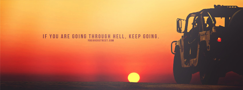 Inspiring Quote Facebook Cover - Timeline - Cover Photos ...