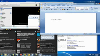 Fitur Aero Shake di Windows 7