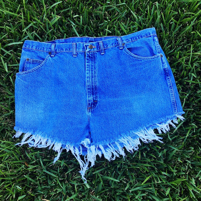 Vintage Plus Size Wrangler Shorts
