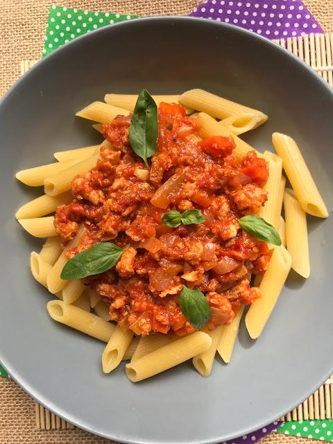 boloñesa vegana receta