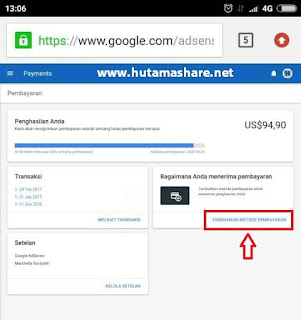 cara transfer google adsense ke rekening bank indonesia