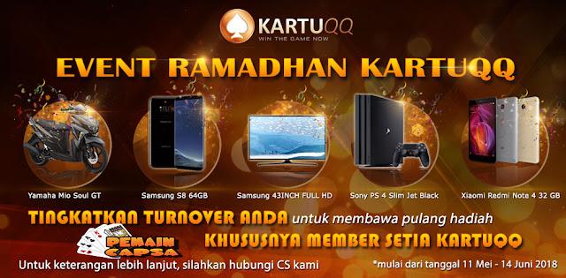 mega bonus event turnover poker kartuqq edisi ramadhan 11 mei - 14 juni 2018