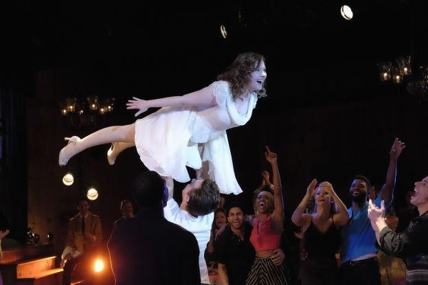Una imagen de la miniserie 'Dirty Dancing', de la MTV