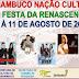 Prefeitura de Pesqueira, PE, divulga grade de programação da 15ª Festa da Renascença