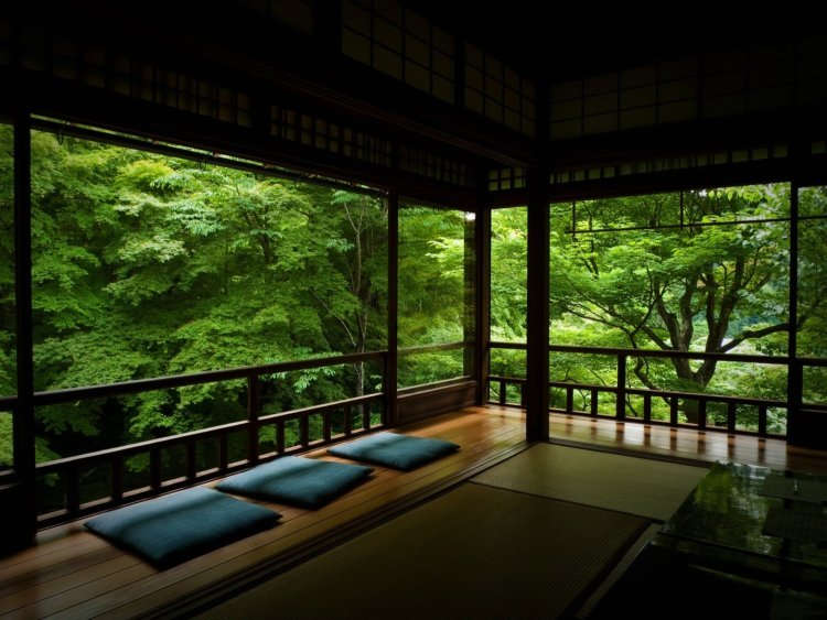 Desain Ruang Tamu Terbuka Tanpa Sofa
