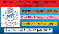 Jharkhand District Rural Development Agencies Recruitment 2018– 12 Accountant cum Comp Operator & Block Coordinator