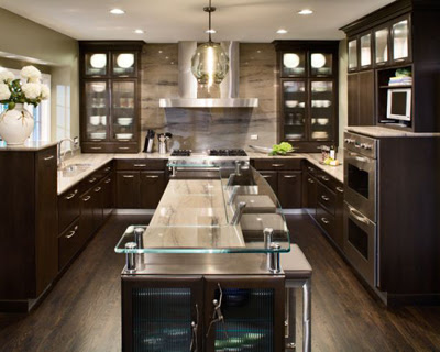 20 Modern and Custom Kitchen - modern - kitchen cabinets - different metros ~ Modernistic Design - Photos Of Contemporary Kitchens