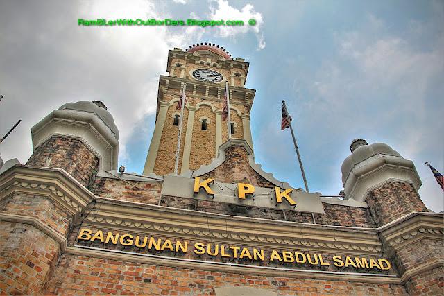 Sultan Abdul Samad Building, KL Historic City Centre, KL, Malaysia