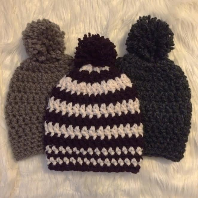 945af6ca402 Easy Super Chunky Slouchy Beanie Pattern (Crochet)