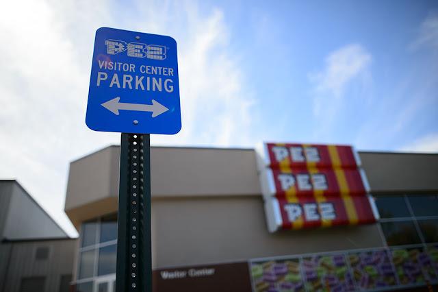 PEZ Visitor Center Parking