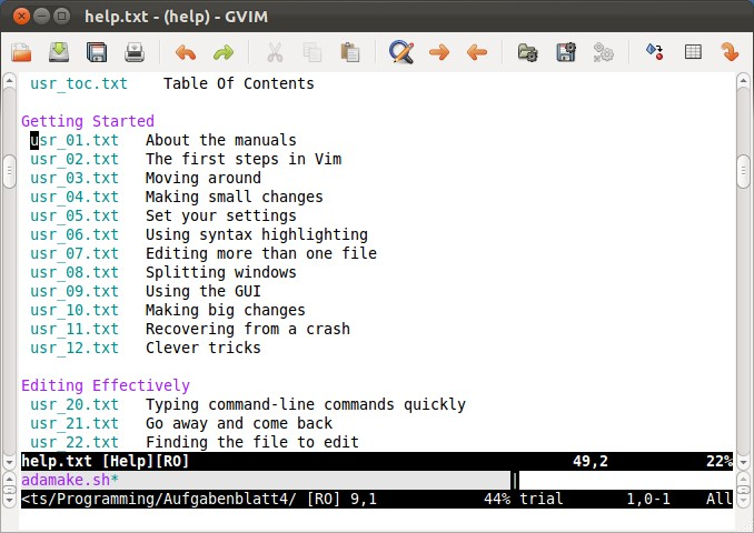 Tux Crazy!: How to become comfortable with vim