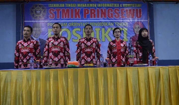 Lebih dari 100 Mahasiswa Baru STMIK Pringsewu Ikuti POSDIKTI Gelombang 1 tahun 2017