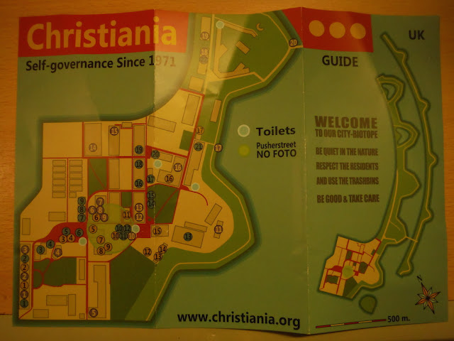 Freetown Christiania map