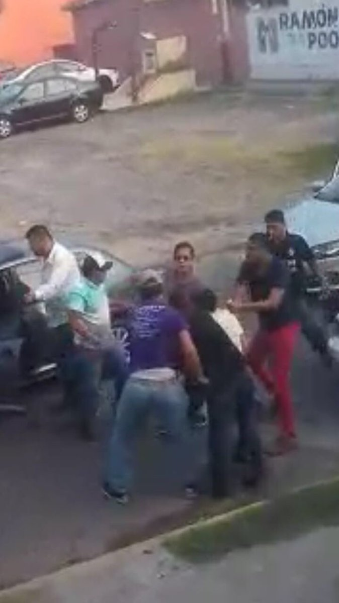 Video Graban levantón en la colonia Río Medio de Veracruz