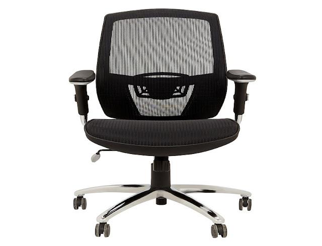 best buy John Lewis Murray ergonomic office chair black for sale