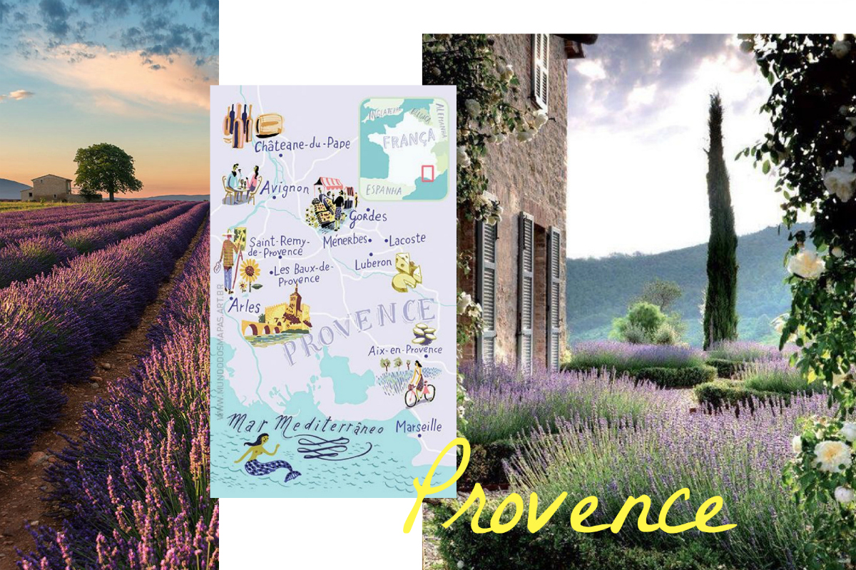 Travel Bucket List 6 places to see in 2017 Roadtrip Provence www.theblondelion.com