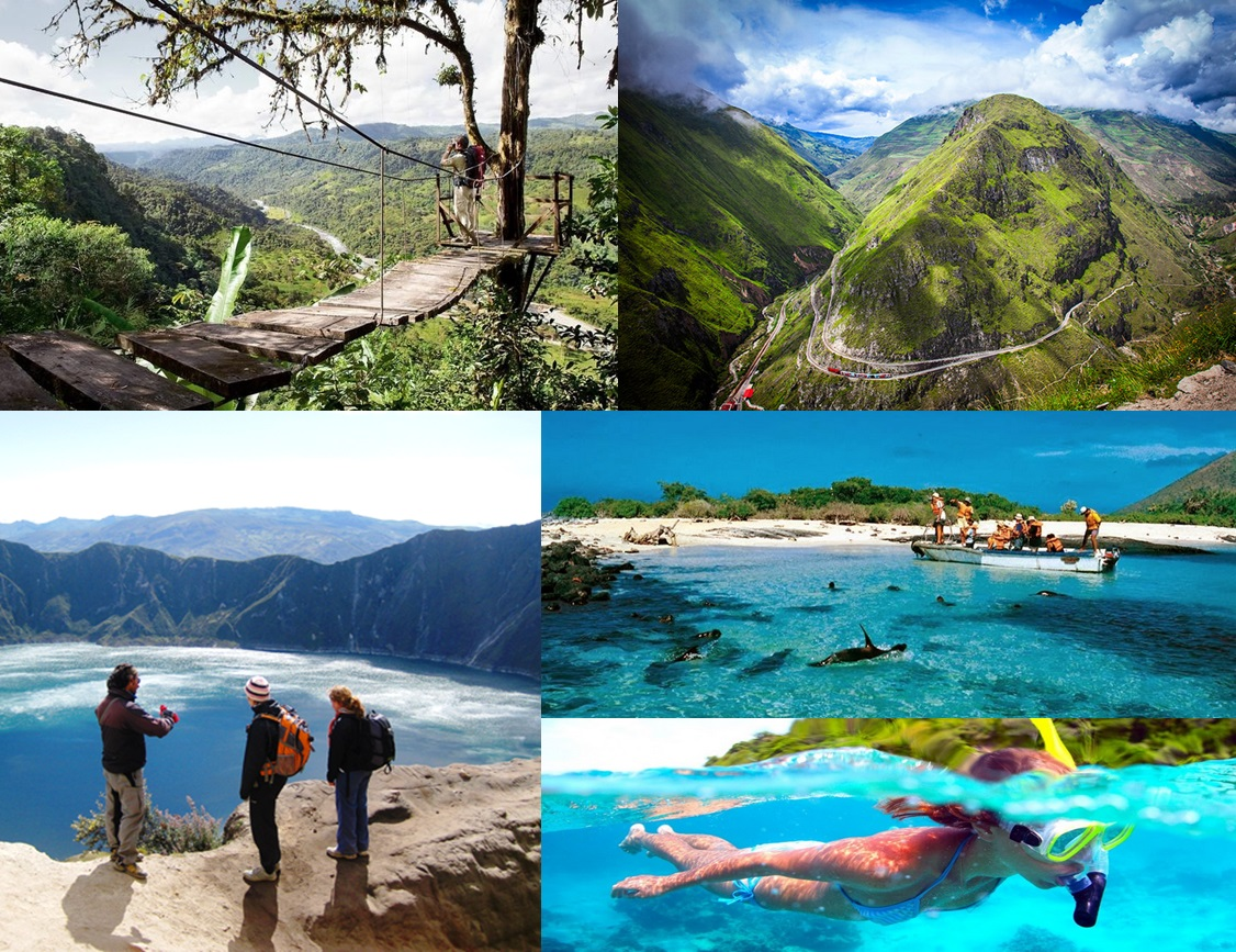 50 Lugares turísticos de Ecuador | Ecuador Turistico