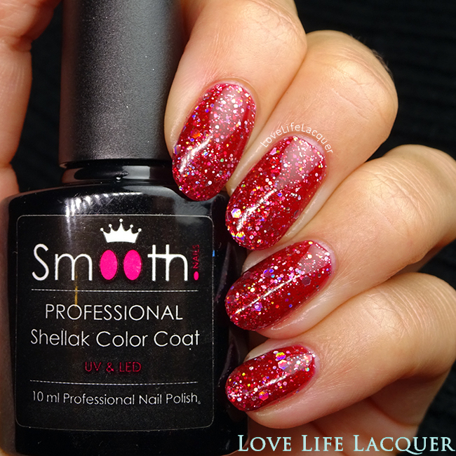 SmoothNails Fire Brick Red