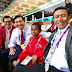 Hadiri Pembukaan Asian Games, Anak Pemanjat Tiang Bendara Duduk Bersama Menko Polhukam dan Menteri Kabinet Kerja