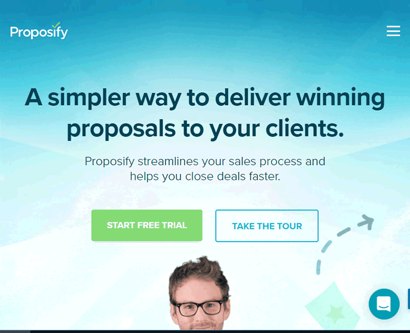 Proposify helps you create great sales proposals