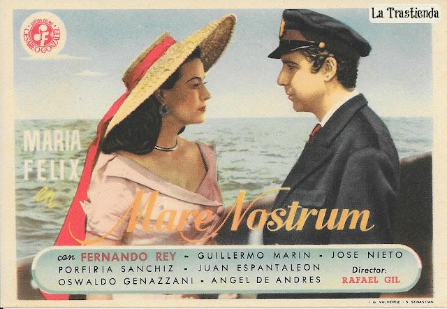 Programa de Cine - Mare Nostrum - Fernando Rey - Maria Félix