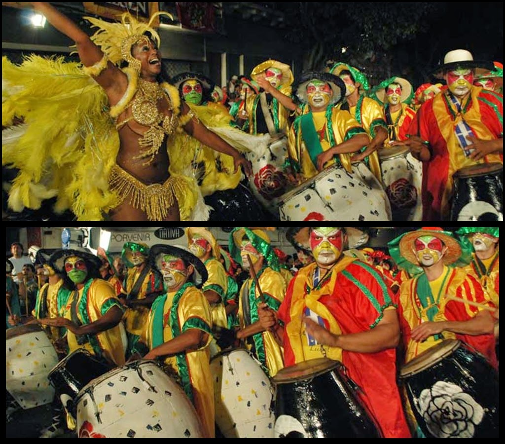 Desfile de Llamadas.Senegal.Lola Acosta. Montevideo. 2011