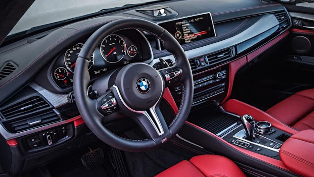 BMW X5 Interior design