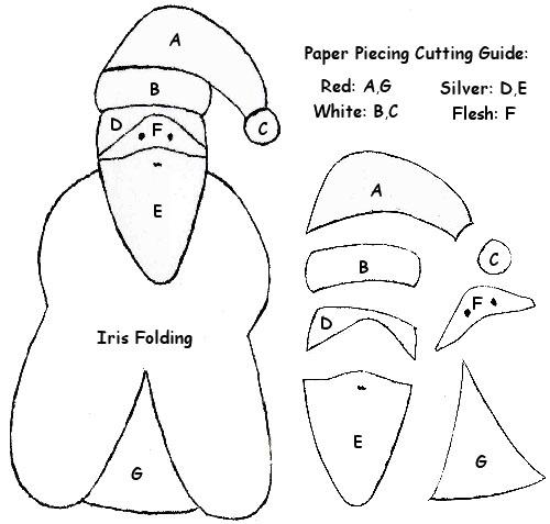 THETINCAT: Card Pattern Santa