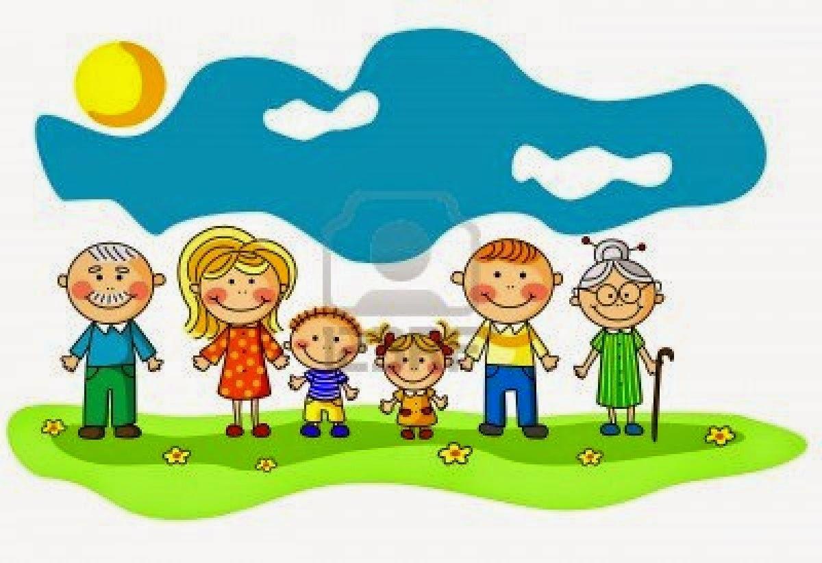 Vector Feliz Viaje Familia: ACTIVIDADES Y MANUALIDADES CON NIÑOS