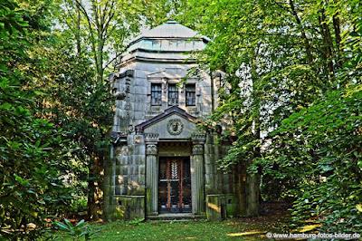 Mausoleum Friedhof Hamburg Ohlsdorf