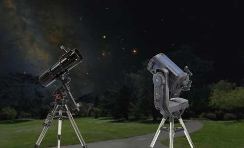 Materi teleskop bintang bumi prisma galilei panggung dan
