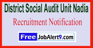 District Social Audit Unit Nadia Recruitment Notification 2017 Last Date 05-06-2017