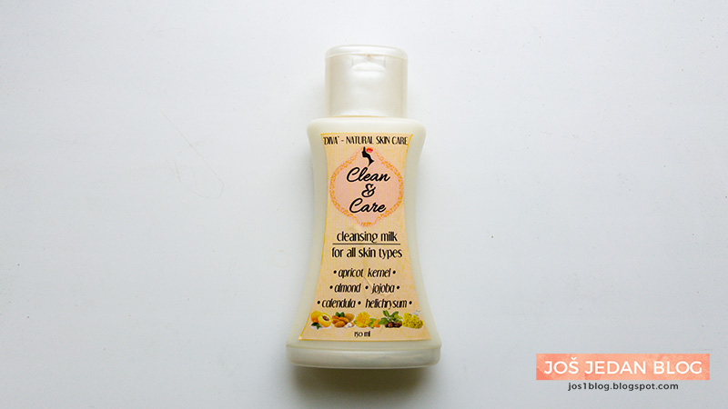 Diva prirodna kozmetika Clean&Care Cleansing Milk mleko za čišćenje lica recenzija
