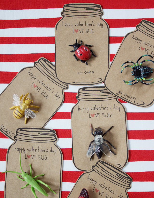 Valentine's Day Cards DIY Valentine Cards Happy Valentine's Day Love Bug Be Mine Valentine Inspiration