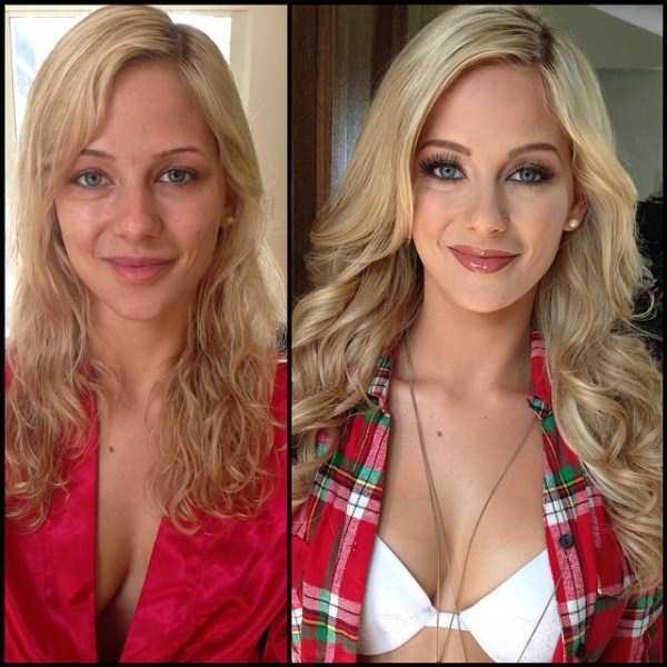 wajah model majalah playboy sebelum makeup-1