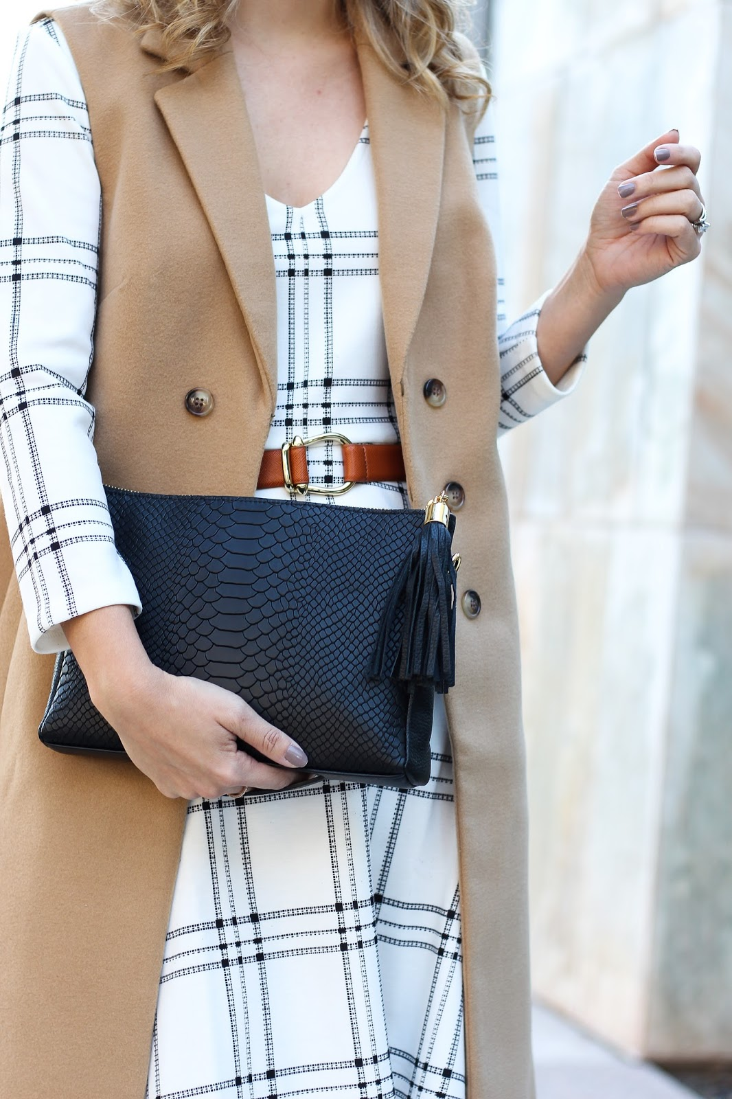 fall dress - layers - fall layers statement belt - fashion - simply sutter