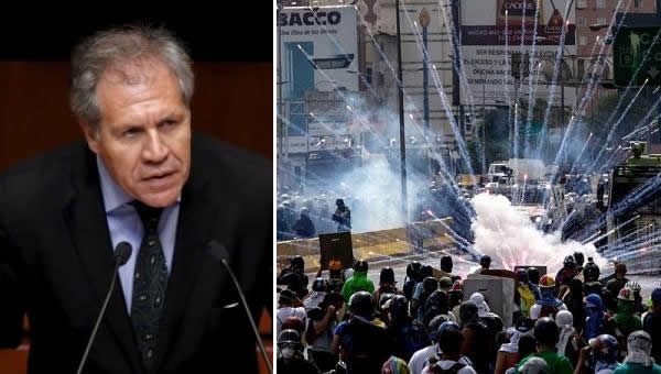 """Almagro afirmó que """"Venezuela sigue en agenda"""" tras reunión de cancilleres de la OEA"""
