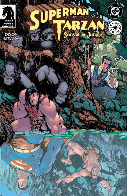superman tarzan comic
