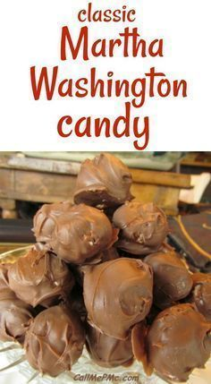 Martha Washington Candy recipe is the perfect old fashioned classic candy. A decadent treat made filled with coconut and pecans and wrapped in chocolate makes a nice homemade gift.