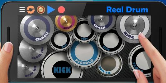 Real Drum The Best Drum Pads Simulator 6.19 apk Apps