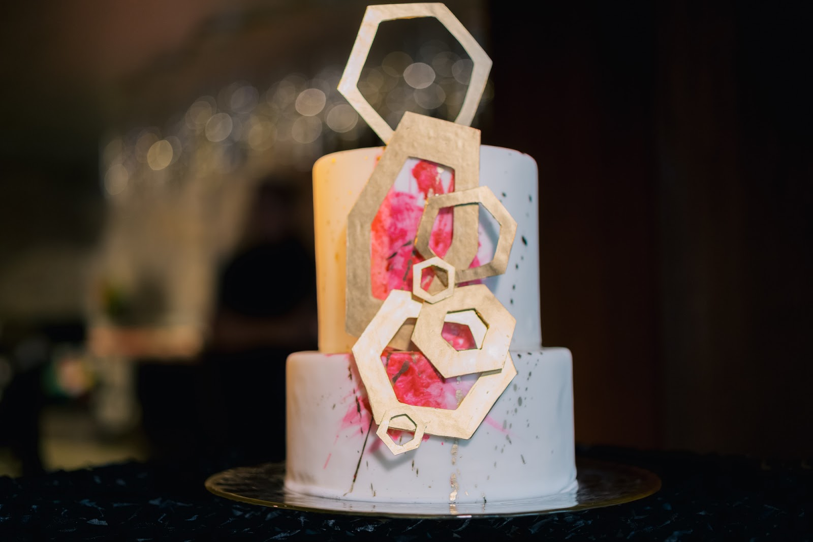 Vendor Credits Colorful Mod Style Wedding Inspiration   Bridal Magic. Old Hollywood Wedding Cakes. Home Design Ideas