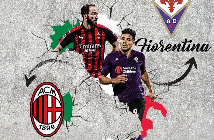 Vedere Milan Fiorentina Streaming Rojadirecta e Diretta tv.