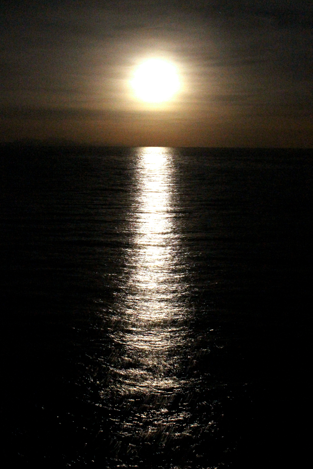 Moonlight on Lake Titicaca, Peru - South America travel blog