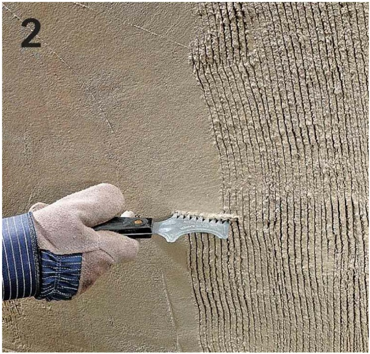 HOW TO SKIM-COAT A FOUNDATION WALL