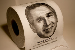 Bush, papel wc